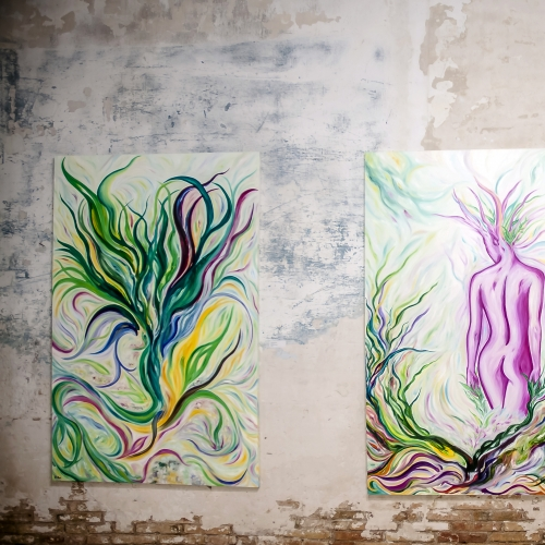 "- Solo Exhibition ""Colores y Elementos de la Naturaleza"""